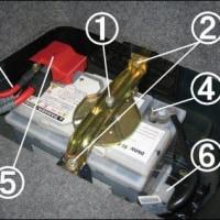 BMW E46のバッテリー交換方法