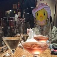 オーペシェグルマンでワインを楽しむ会。