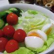 7/24鶏バーグの照り焼きで夕ご飯