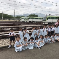 年長組☆橋本車両基地見学