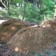にじの森に砂山ができました!