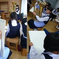 光る楽器(6年生)