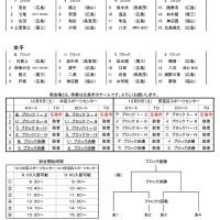 全関西 県予選 組み合わせ