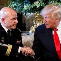 トランプ米大統領、軍中将を大統領補佐官に指名 フリン氏の後任・・・軍出身者で政権づくり?