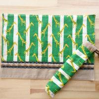 ランチョンマットと箸袋♪給食セット2