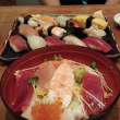 寿司ランチなう。
