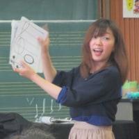 笑顔いっぱいの音楽授業