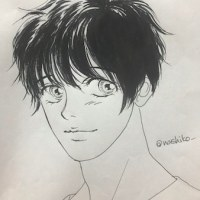 【ユーリ!!!】アナログ画〜勇利 #yurionice #落書き