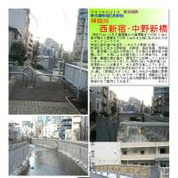 花巡り 「梅-160」  西新宿・中野新橋 神田川