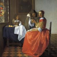 フェルメール(3)  「二人の紳士と婦人」