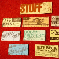 70年代〜80年代のチケット