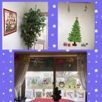 お教室もクリスマスの飾り付けをしましたよ
