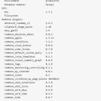 [redmine][3.3.0][plugin]Pluginを導入してみました