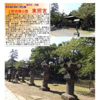 散策 「東京中心部北 308」 上野恩賜公園 東照宮