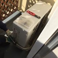 熊本 アパート団地エアコンの取外し廃棄処分【熊本市 エアコン処分 業者!】