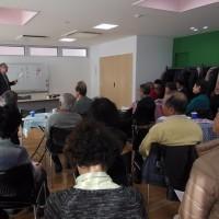 コミュニティ・カフェ高輪 in HUGで講演会が開催されました
