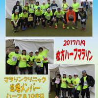 マラソンクリニック、枚方ハーフ完走(^^♪