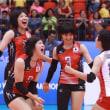 ブルガリア0:3日本 第19回世界ジュニア女子選手権大会(U-20)