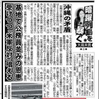 在日韓国人シンスゴやしばき隊などが沖縄高江報告の首謀者 裏にシナ共産