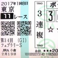 小倉競馬現地応援とグルメ堪能・・・ちょっぴりフェブラリーステークス!!