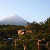 富士山の周りを巡ってきました。