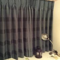 川島織物のカーテンが来たー