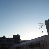 東京の今朝の天気(12月9日):晴れ