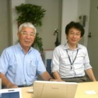 鳥取の兄貴の兄貴(平強さん)に東京でお会いしました。スティーブジョブスと仕事したらしいです。