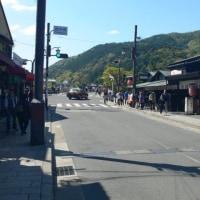 けいおん!の聖地をゆく7 その2 京都修学旅行編 渡月橋
