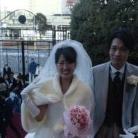 昨日は結婚式