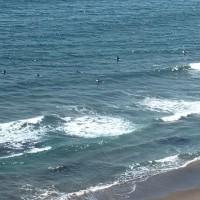 初夏の海、鴨川