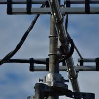同軸ケーブルの回転部の保護
