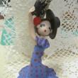 フラメンコを踊る人形