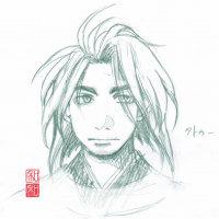 【描いてみた】琉球史人物、を、29【キラ男子】