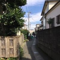 【大磯の家】地鎮祭/路地と海