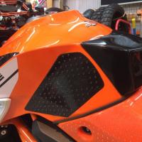 KTM 1290 SD-R 用 レーシングタンクパッド完成