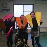 潜水プール講習