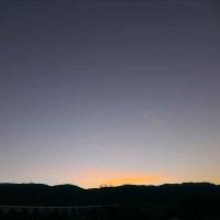 10月24日 夜明け前