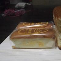 カステラと上賀茂チーズケーキ