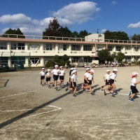 平成28年度 幡陽小学校マラソン大会。