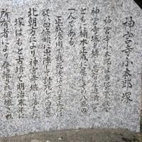 『河内史跡巡り』神宮寺小太郎伝説・お恩智には昔より、神宮寺小太郎伝説が残っている