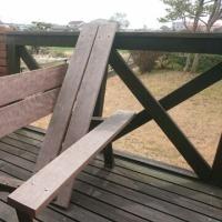 テラスの椅子とテーブルをリニューアル!