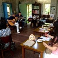 7月英国式庭園喫茶室、ライブ報告