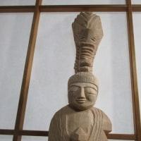 円空彫刻の稽古で荒子観音寺へ