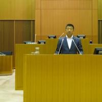 6月議会の最終日に出席しました。