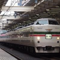 2017年6月25日,臨時快速 山梨富士3号 189系グレードアップあずさ色