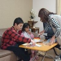 ケーキ作りとryo~からのプレゼント