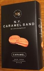 ニューヨークキャラメルサンド 新東京手土産スイーツ さくさくクッキーとろける濃厚キャラメル 東京大丸店
