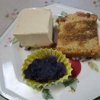 ココナツの花の蜜のケーキ