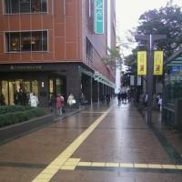 雨が小降りになりました。